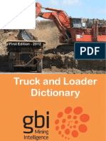 Truck and Loader Dictionary First Edition Sample