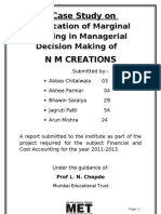 Marginal Costing in Managerial Decision Making