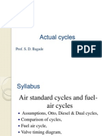 Actual Cycles