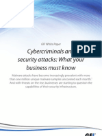 Cybercriminals and security attacks