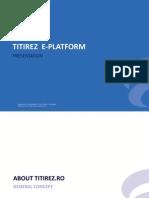 Titirez Presentation - Finala