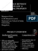 The Interface Between Competition Law & Intellectual Property