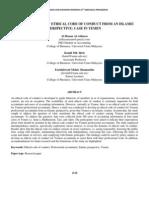 269-2nd ICBER 2011 PG 1428-1448 Accountants Ethical Code