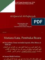 Qawaid Fiqhiyyah Abdullaah Jalil Usim Portal