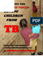 Hearing the unheard voices - saving children from TB