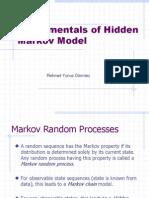 Fundamentals of Hidden Markov Model1