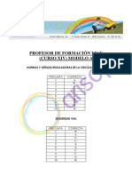 CORRECTOR - Cuestionario A - XIV Curso de Profesores de Formación Vial