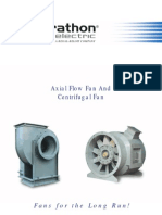 Axial Flow Fan Selection