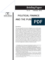 Political Finance and the Public Right
