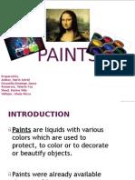 Paints PPT