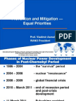Prevention and Mitigation — Equal Priorities; Prof. Vladimir Asmolov, WANO President