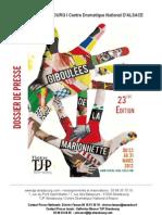 Dossier Presse Giboulees 2012