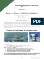 X-ENS PSI 2011 (sujet)