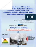Lessons Learned from the Accident - A.V. Shutikov