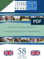 studio 2012 brochure
