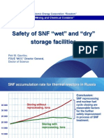 Gavrilov Safety of SNF Wet and Dry Storage Facilities