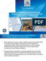 New Approaches to Prevention and Mitigation of Severe Accidents in the Light of Fukushima -Kopytov