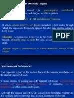 actinobacillosis &actinomycosis