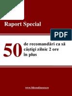 Mircea Enescu_50 de Recomandari CA Sa Castigi Zilnic 2 Ore in Plus