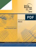 Doing Business 2012 Aalbania World Bank