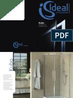 Bathroom Suites by Ideal Standard - Kubo Brochure 2011