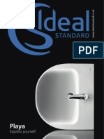 Bathroom Suites by Ideal Standard - PLAYA Brochure 2011