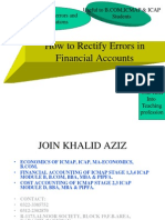How to Rectify Errors in Financial Accounts 120109230430 Phpapp01