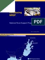 NRSP Standard Presentation January 2012