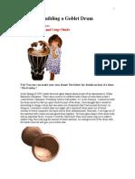 Building a Goblet Drum
