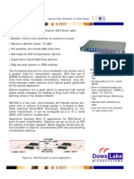 MS1025-0 Optical Fiber Amplifier for SDH_Sonet