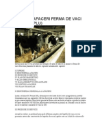 Plan Afaceri Ferma Vaci