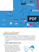 Guía de recomendaciones para pacientes con ostomías