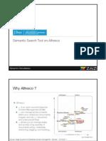 J. Boye Conference - Zaizi Semantic Search Tool on Alfresco