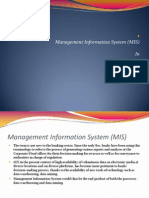 22553515 Management Information System MIS in Banking Sector