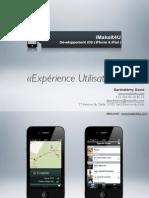 iOS UX par iMakeit4U