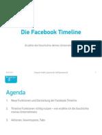 Facebook Timeline Zusammenfassung