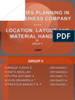 Facilities Planning in Agribusiness Company ---