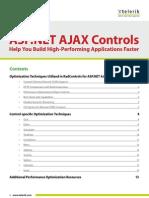 Rad Controls for ASP.net AJAX Performance Whitepaper