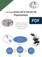Fundamentos de la tinción de Papanicolaou