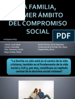 LA FAMILIA, PRIMER ÁMBITO DEL COMPROMISO SOCIAL