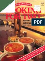 Cooking for Two - Johna Blinn