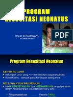 Program Resusitasi Neonatus
