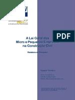 Lei empresas e a contrução civil
