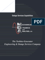 MDA Outage Services Brochure