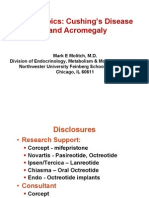 Molitch_Hot Topics Cushings Disease and Acromegaly
