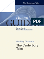 Geoffrey Chaucer's the Canterbury Tales - Harold Bloom
