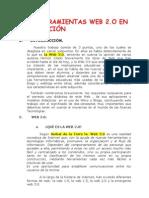 Web 2 0 Herramientas y Competencias