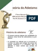 Aula 02 A história do Atletismo