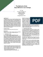 35 Ways Behavior Change