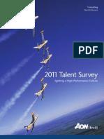 Aon Hewitt 2011 Talent Survey